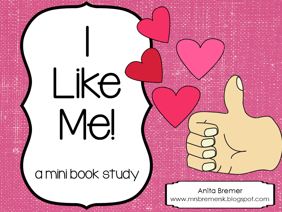 http://www.teacherspayteachers.com/Product/I-Like-Me-mini-book-study-566615