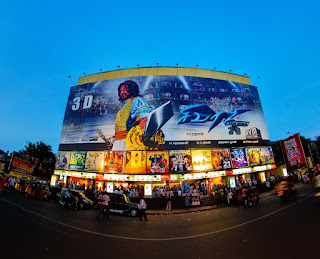 A Cinema Theatre in Chennai