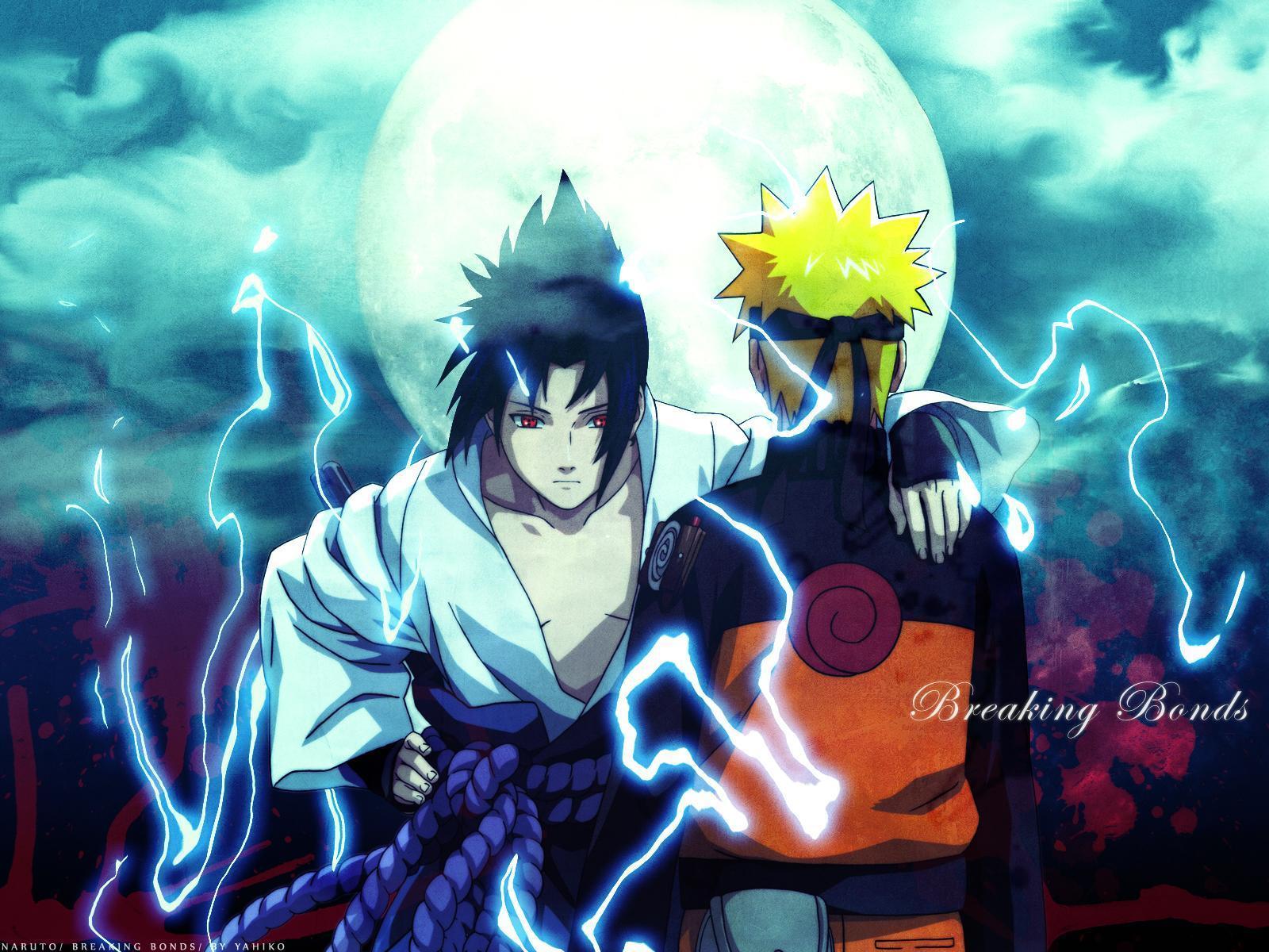 hãy cùng xem những hình ảnh đẹp trong bộ truyện tranh và phim hoạt hình Naruto vs sasuke.