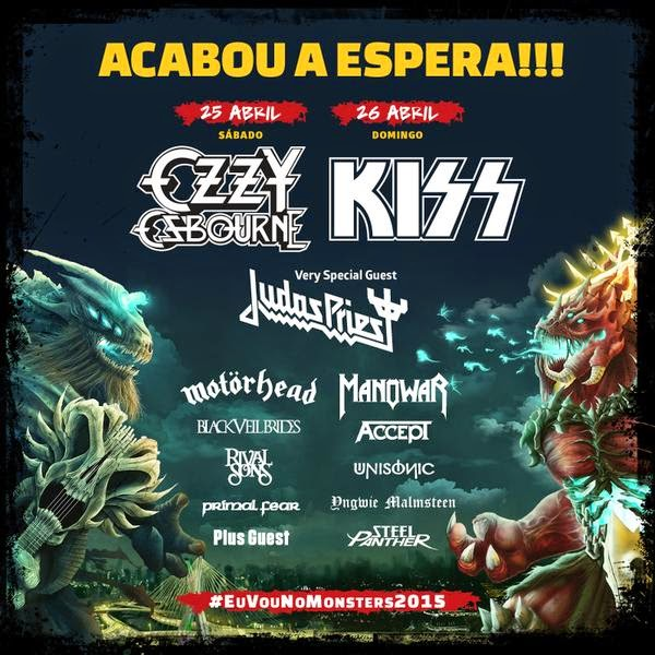 Monsters Of Rock 2015