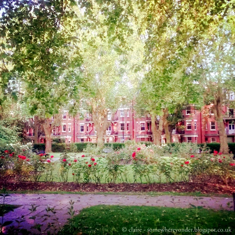 Paddington Recreational Ground London - The Rose Garden
