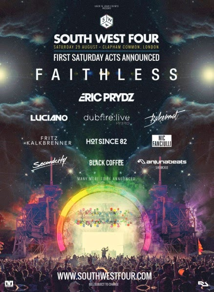 SOUTH WEST FOUR Tickets  2015