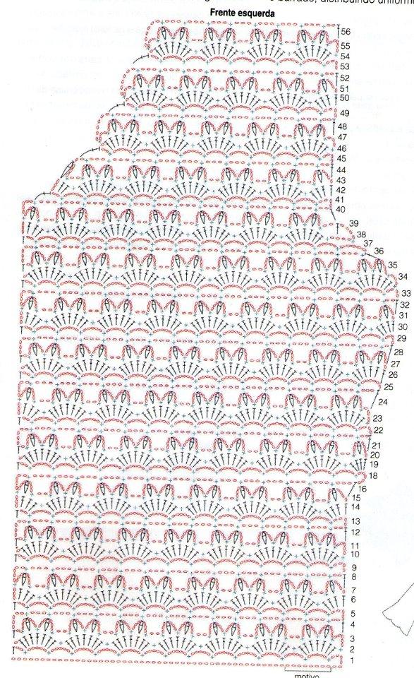 Белый ажурный жакетик. 76008