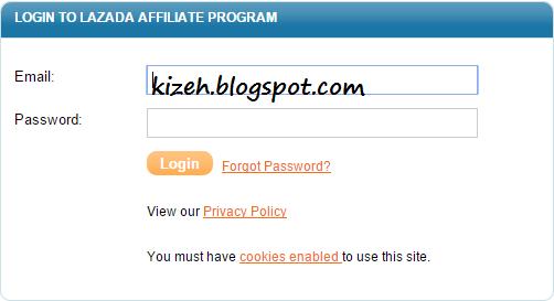 Cara menggunakan program affiliasi Lazada dengan mudah