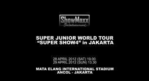 Video Konser Super Junior SS4 di Jakarta 27 April 2012 Tadi Malam