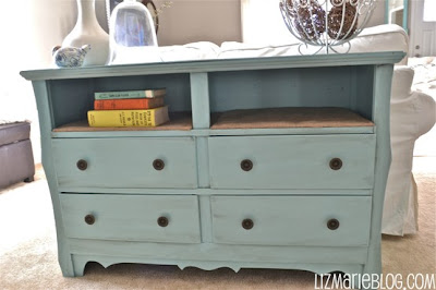 From: http://www.lizmarieblog.com/2012/04/beachy-dresser-with-burlap-shelves/
