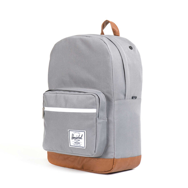 grey herschel rucksack