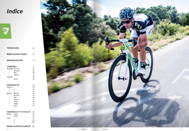 catálogo multimedia de Berria Bike para   2016
