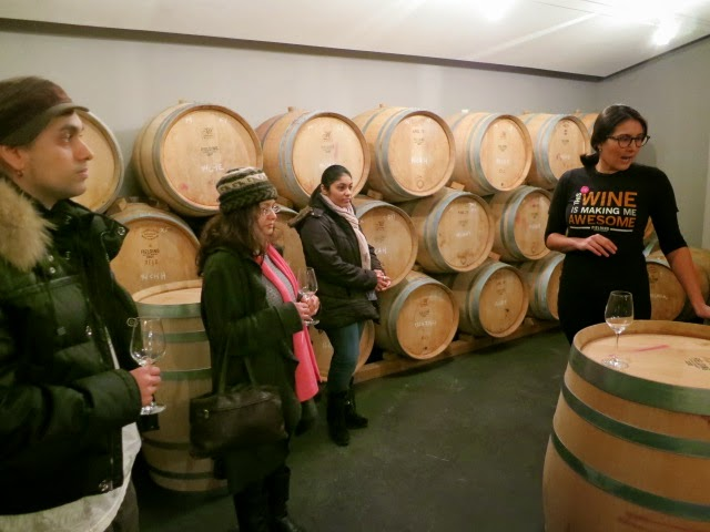Barrel Cellar at Fielding Estate Winery