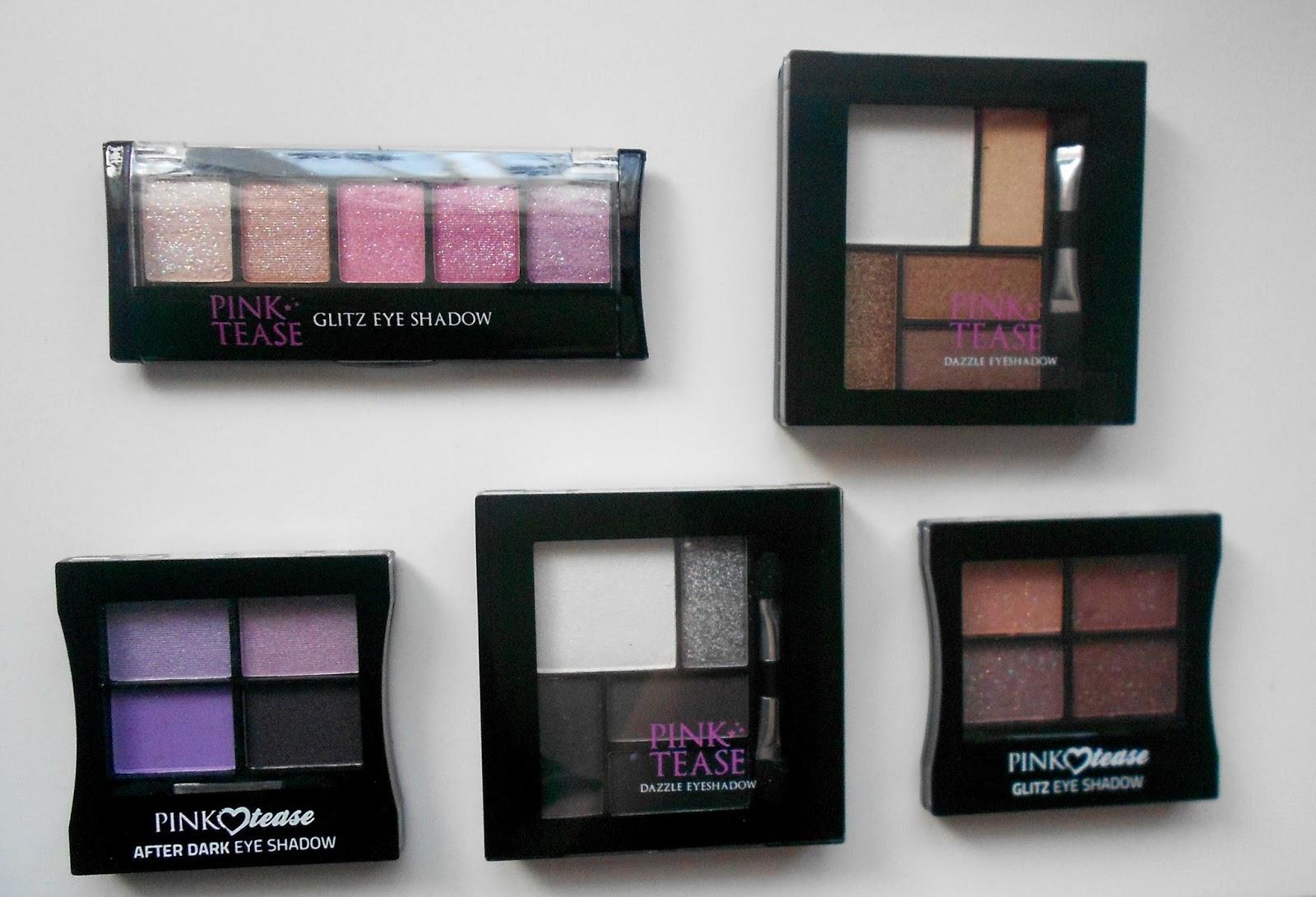 makeup rumours haul  eyeshadow palettes