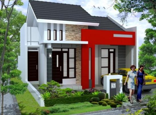 Contoh Desain Rumah Minimalis 1 Lantai Modern