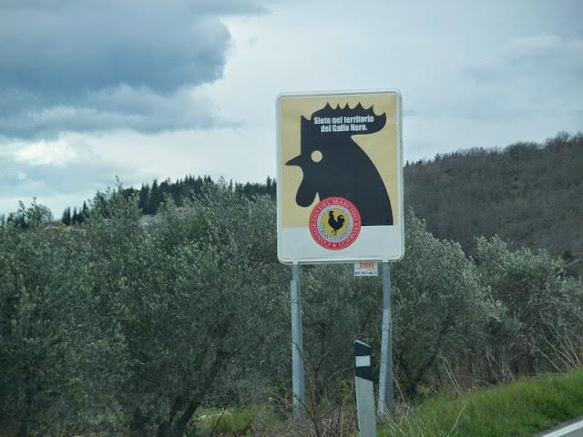 Chianti Classico wine region in Tuscnay