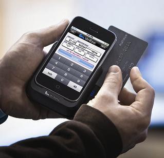 Restaurant Merchant Processing Mobile Hand Held