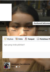 Cara Mengganti Tema Facebook Transparant Dengan Background Gambar/Photo Sendiri
