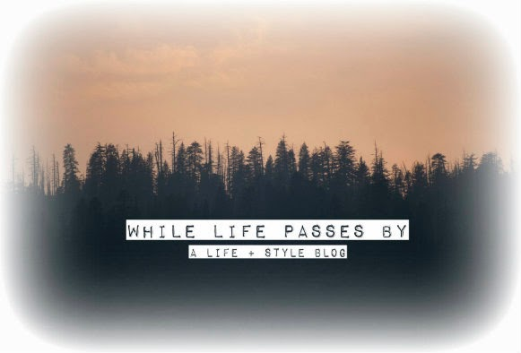 while life passes by...