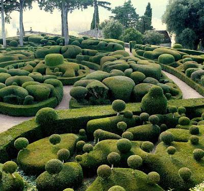 Jardines Marqueyssac en Francia