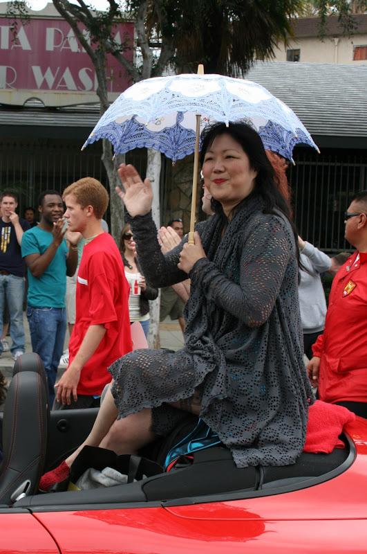 Margaret Cho WEHO Pride Parade 2011