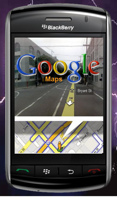 Site Blogspot  Wallpaper Android  on Google Maps Is Available On Phones That Run The Android Blackberry