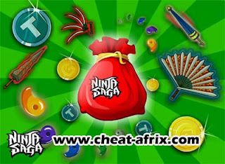 Cheat Share Gift Old Item Ninja Saga