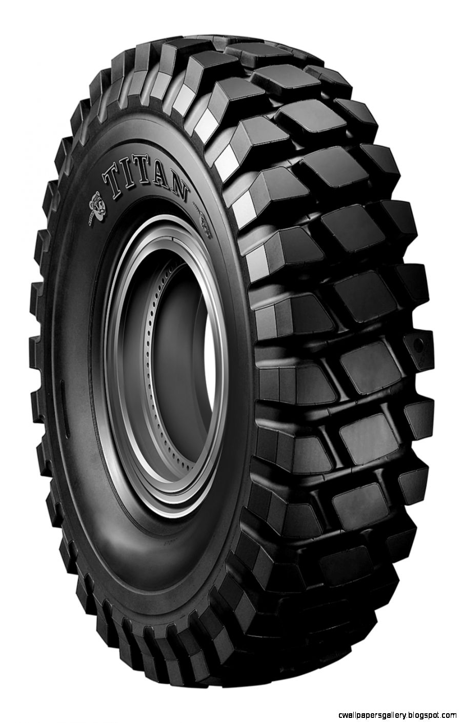 Titan Tire39s DTE4 haul truck tire  Aggregates Manager