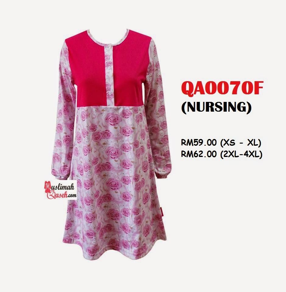 T-Shirt-Muslimah-Qaseh-QA0070F