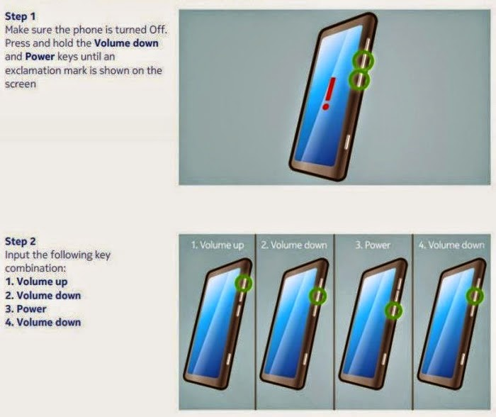 Как сделать сброс lumia 520
