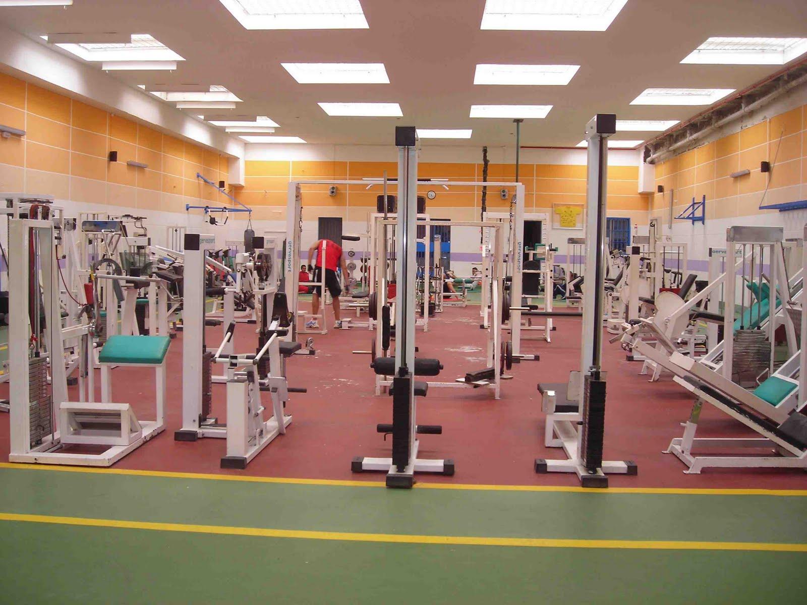 El cabildo mejora las prestaciones del gimnasio del for Gimnasio del centro