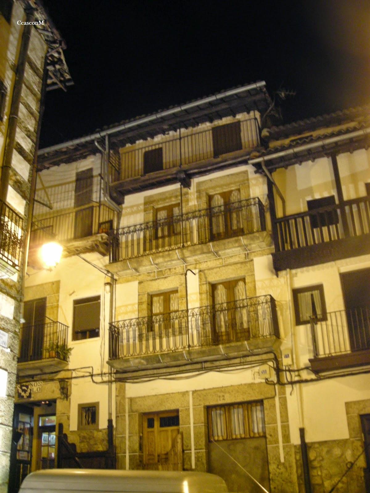 fachada en el Solano de Candelario