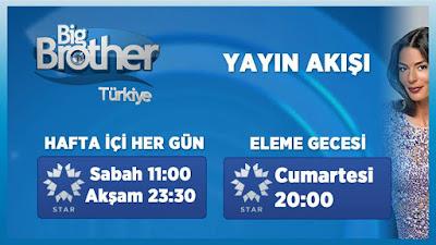 big brother türkiye yayın akışı