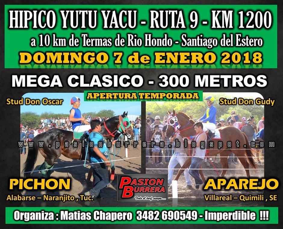YUTU YACU - DOMINGO 7 ENERO