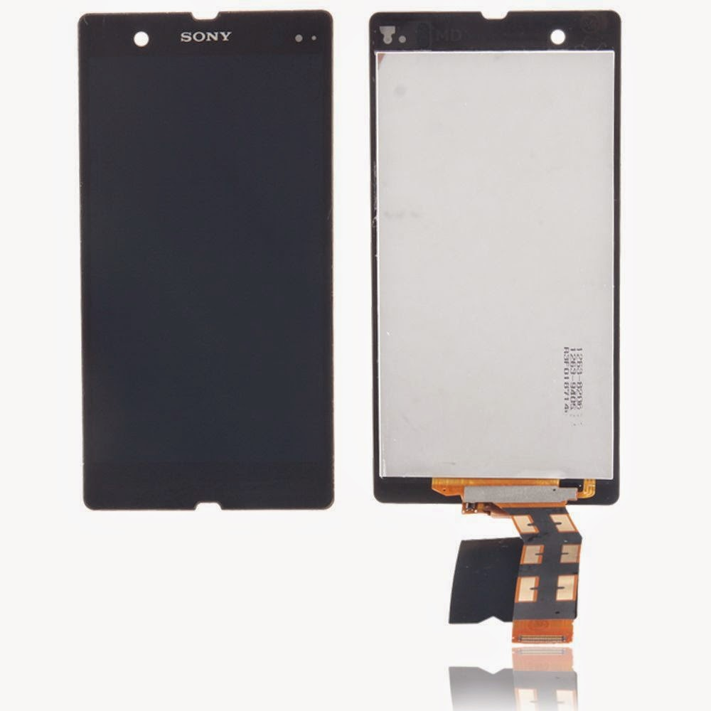 for Sony Xperia Z L36h C6603 LCD Display Assembly Touch Screen Digitizer Black