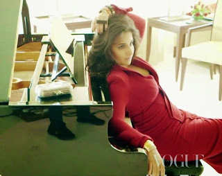 Vidya Balan for Vogue Magazine INdia March 2015 Issue Stunning Beauty