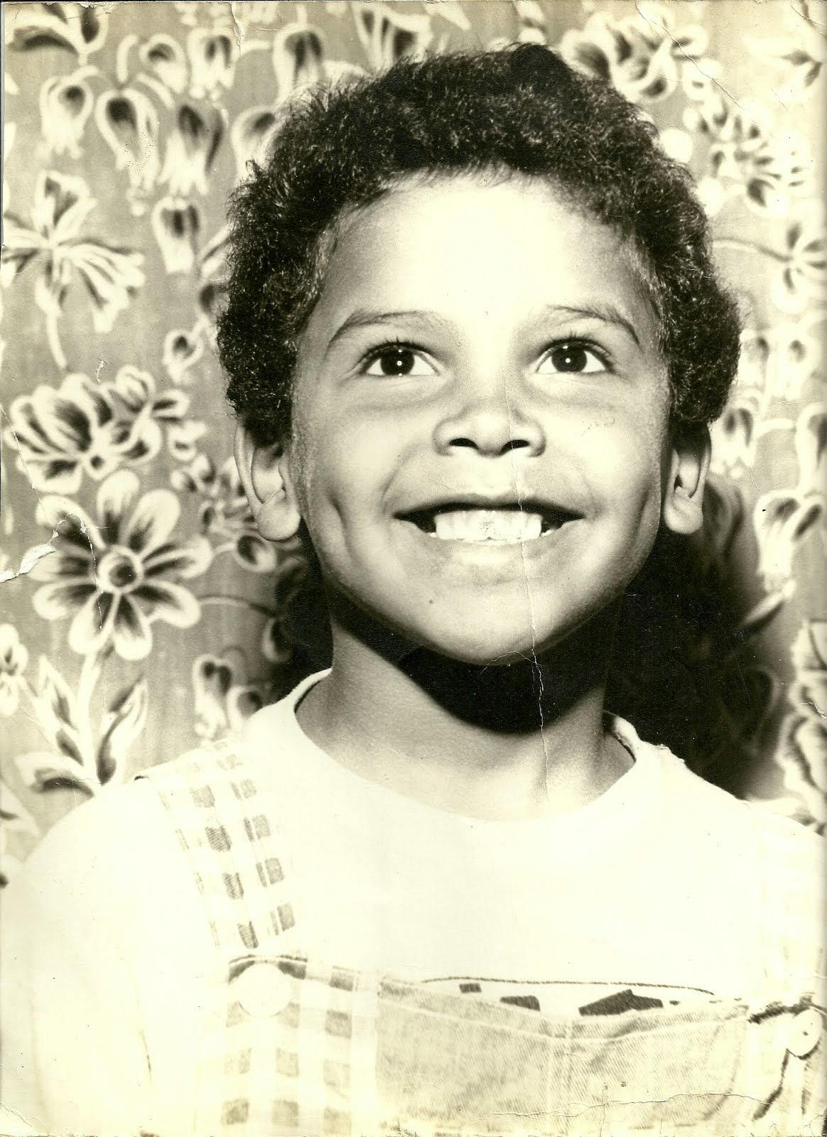 Roberto Marcelo aos 5 anos