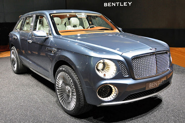 2012 Bentley EXP 9 F Front Exterior