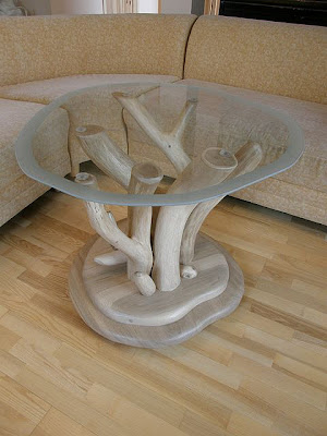 Unique and Natural Wood table #2
