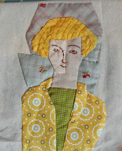 Applique portraits.