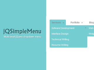 jQSimpleMenu - Multi Level Hierarchical Drop Down jQuery Menu