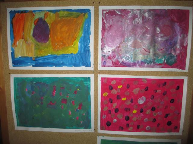 Freies Malen freies Tun im Kindergarten