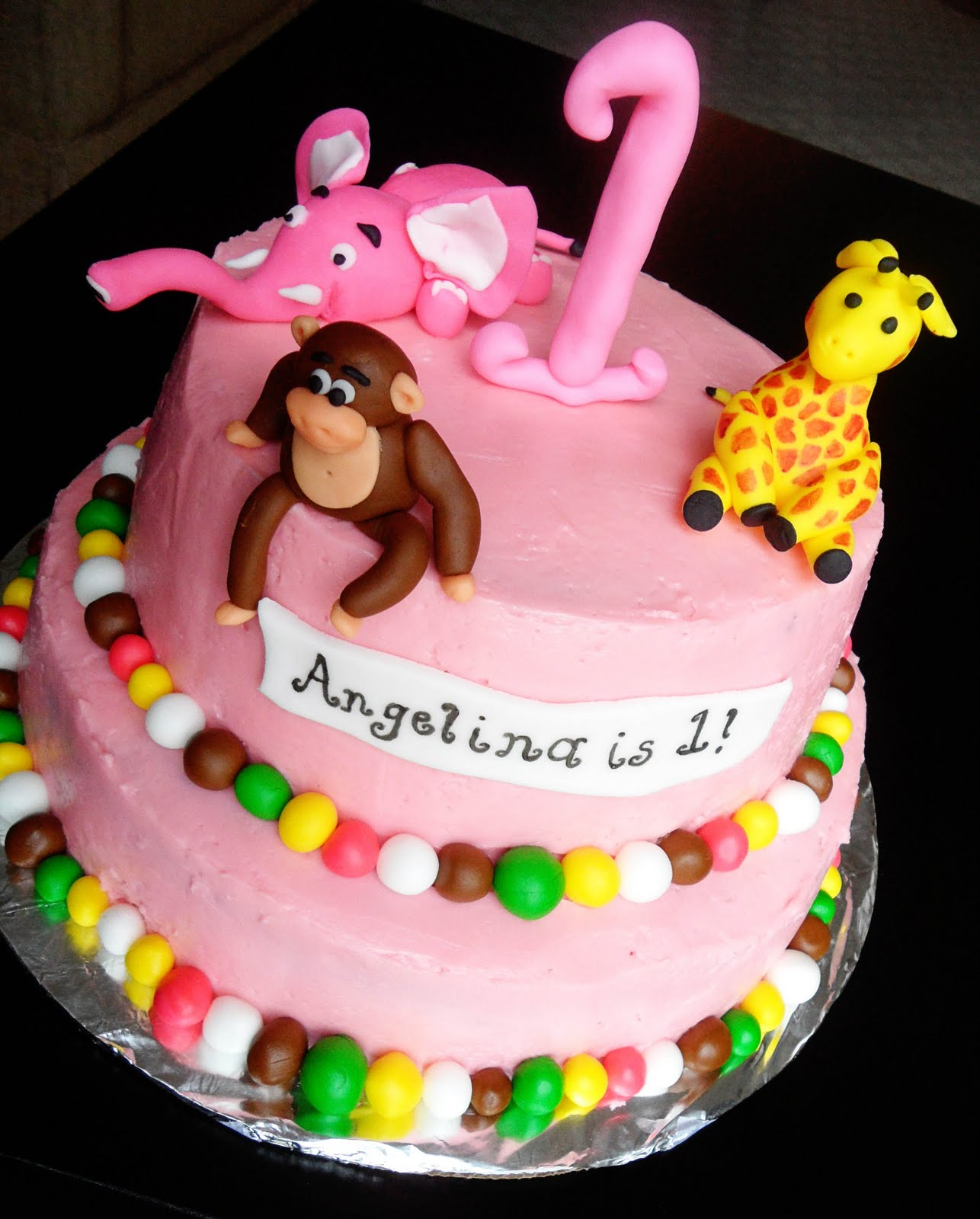Sweet Things Birthday Cake For A Sweet 1 Year Old