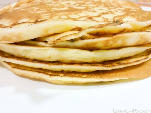 receta tortitas americanas sin gluten