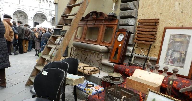 Arianna 39 s photos al mercatino for Mercato antiquariato lucca