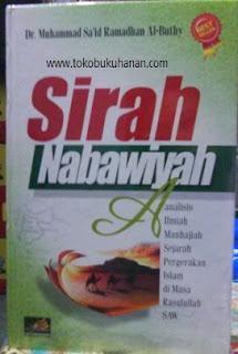 buku sirah nabawiyah ramadhan al buthy