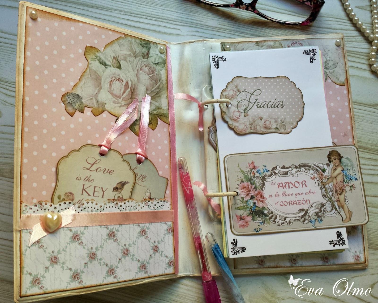 Cuquicosas blog aprende a decorar objetos con scrapbooking for Libros antiguos para decoracion