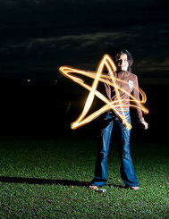 Technique  for Light Painting Photography