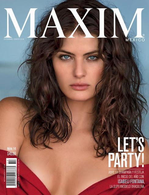 Isabeli Fontana Revista Maxim México Diciembre 2015