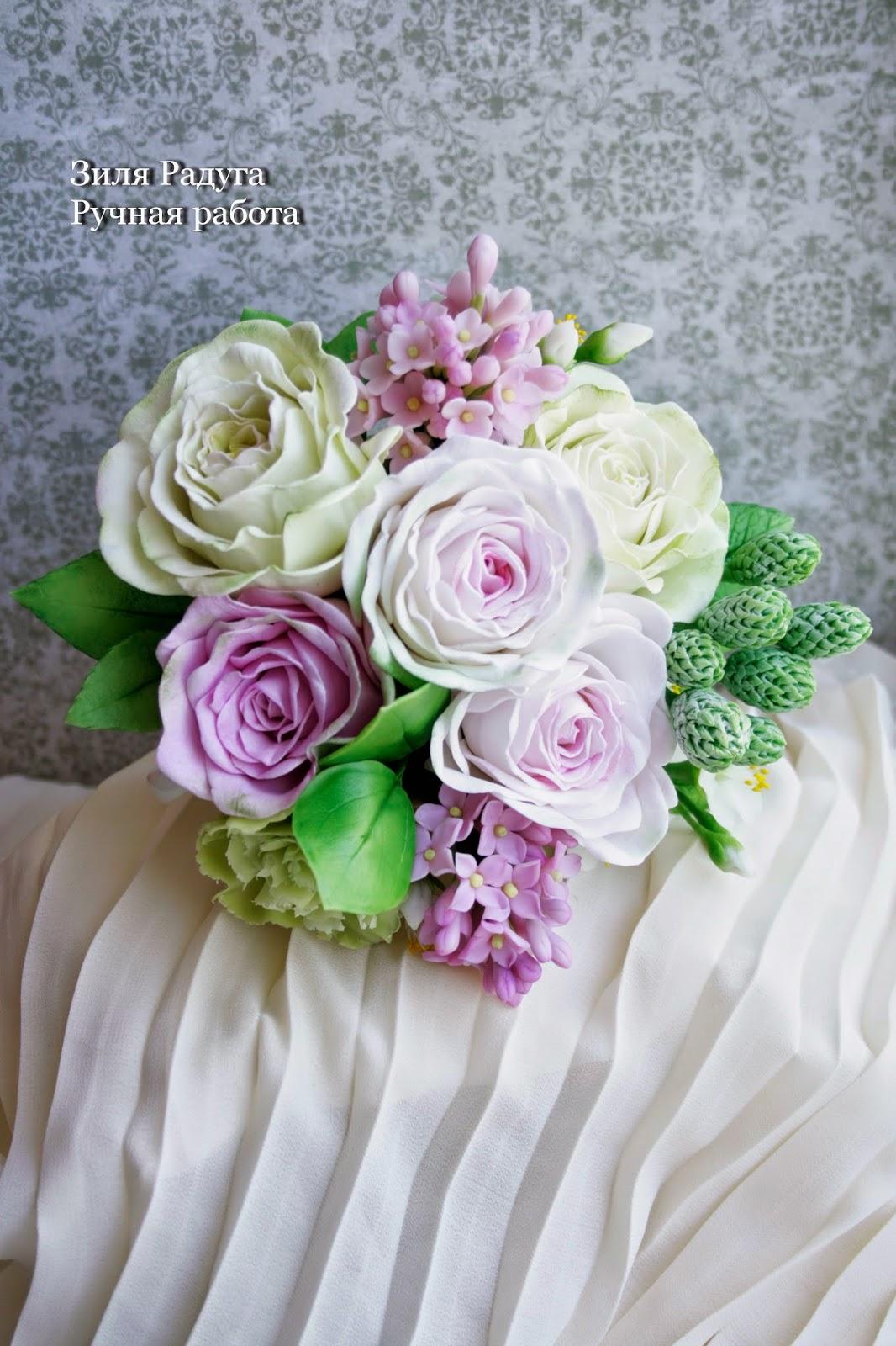 букет искусственных цветов