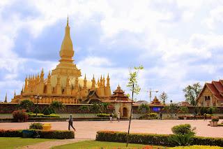 Pha That Luang - Vientian - Laos