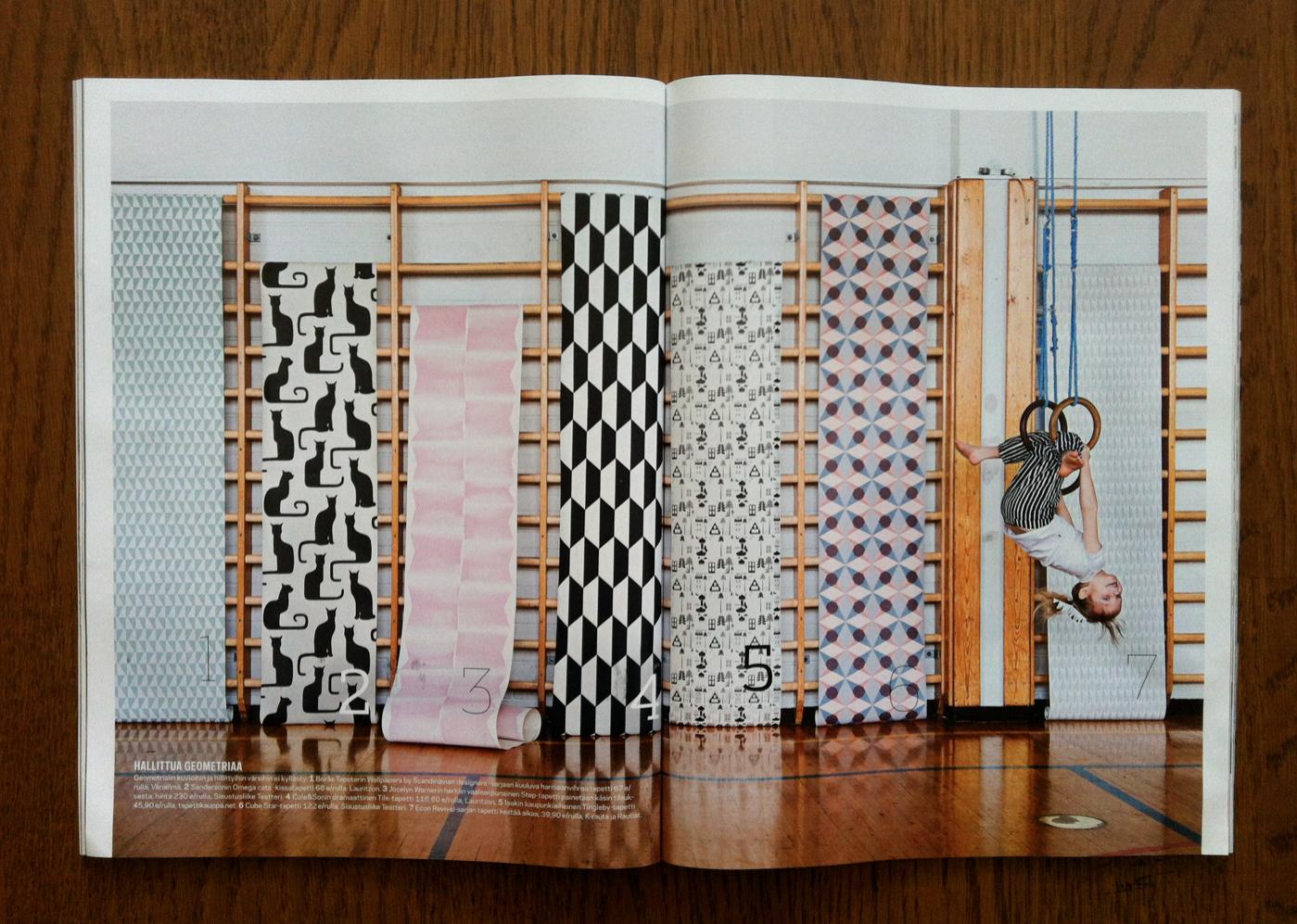 Isak beautiful happy things tingleby wallpaper in for Deko magazin