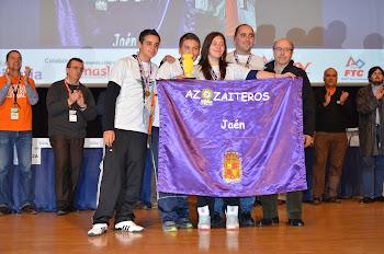 AZZAITEROS EN LA GRAN FINAL FLL ESPAÑA