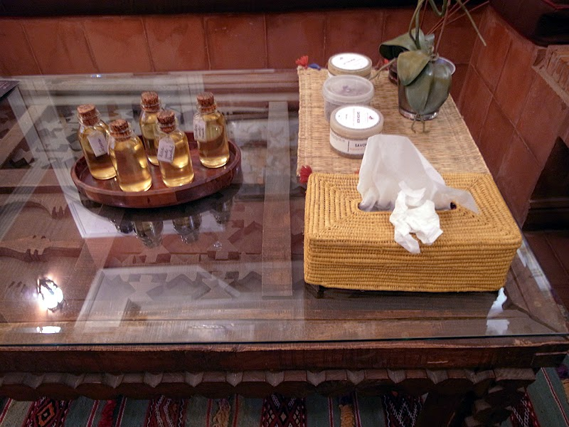 Moroccan soaps and oils
